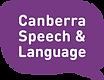 Canberra Speech and Language Logo