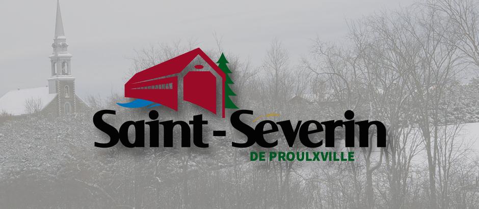 Une nouvelle image pour la municipalité de Saint-Séverin!