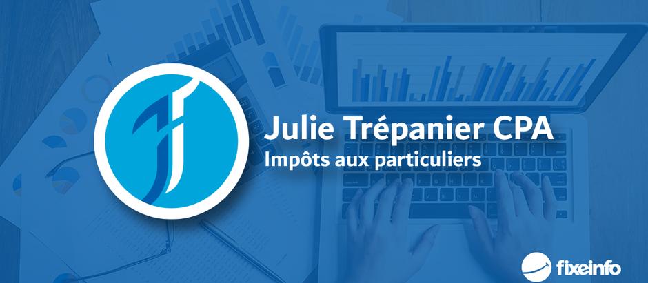 Un nouveau logo pour Julie!