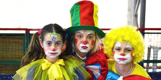 clown bussola clown pepito e clown frago