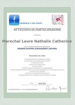 Corso di Wedding planning & Management