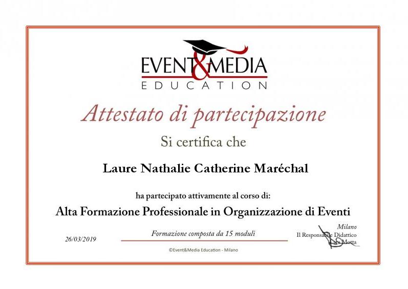 Alta Formazione Professionale in Organiz