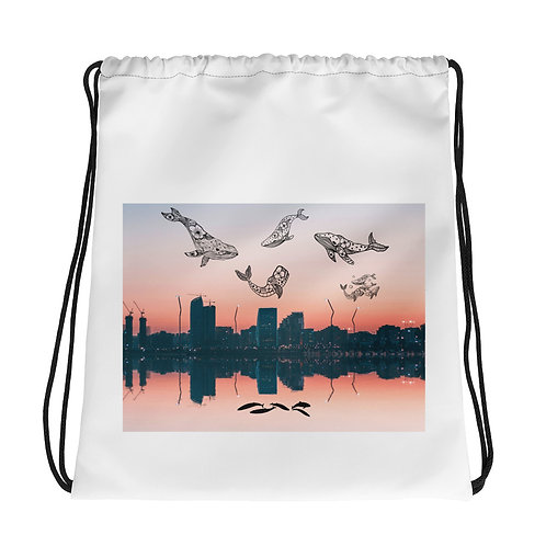 Le Balene - Drawstring bag