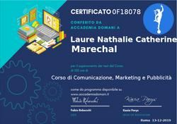 Corso di Comunicazione, Marketing e Pubb