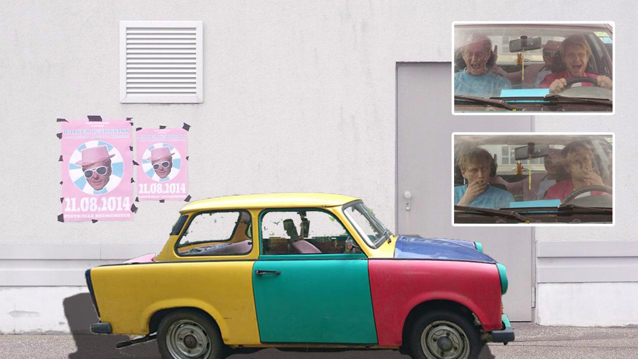 Collage für Szenen- und Kostümbild