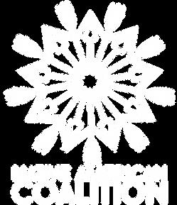 Native American Coalition Logo white .pn