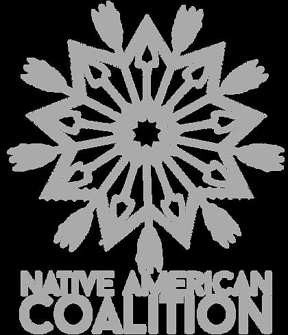 Native American Coalition Logo Light Gra