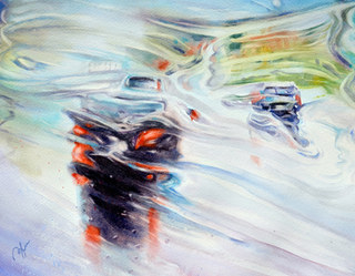 Painting on Windshield I