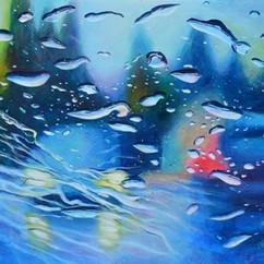 Met you in the rain