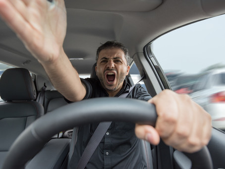 How to disfuse road rage