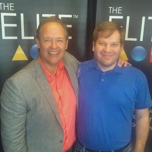 Devan with world famous speaker and mentor, Kirk Duncan