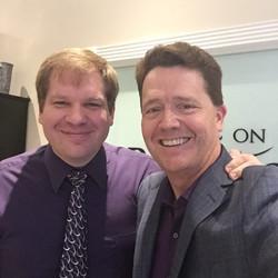 Devan with Dr. Paul Jenkins