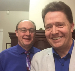Sid with Dr. Paul Jenkins