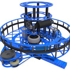 2017 1323 Steamworks Robot Dye Rotor Render 7