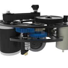 2017 1323 Steamworks Robot Swerve Render