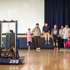 2018 299 Power Up Robot At Demo
