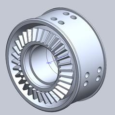 2015 Swerve Wheel Integrated Bevel Practice