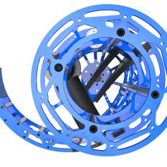 2017 1323 Steamworks Robot Dye Rotor Render 3