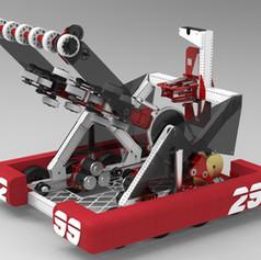 2019 299 Deep Space Robot Render