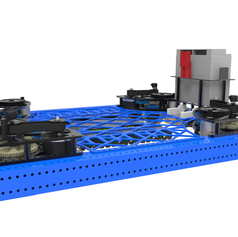 2017 1323 Steamworks Robot Drivetrain Render