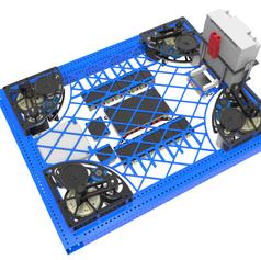 2017 1323 Steamworks Robot Drivetrain Render 3