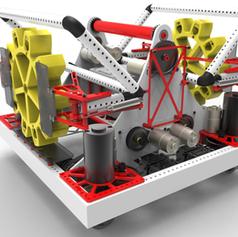 2017 299 Steamworks Offseason Robot Render