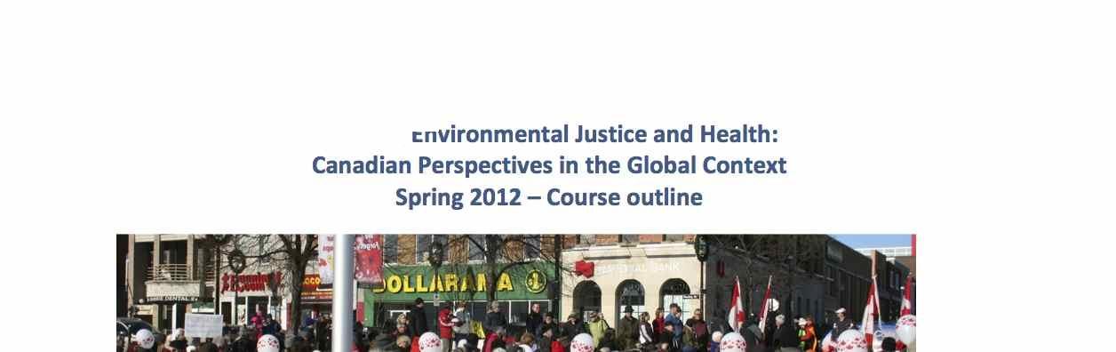 teaching environmental justice