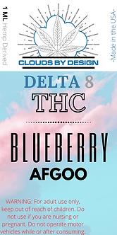 Case(10) of 1 ML Blueberry Afgoo Δ8