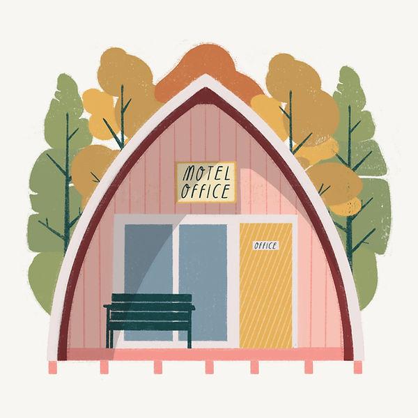 Motel Office Illustration