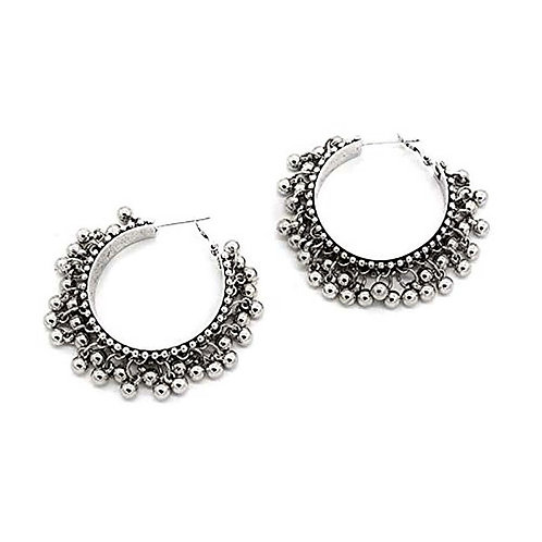 High Quality Oxidized Earring