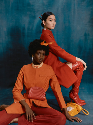 HARPERS BAZAAR UK X FASHION CROSSOVER LONDON MAY 2020
