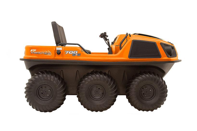 Frontier-700-6x6-Orange-Right-Side-FINAL