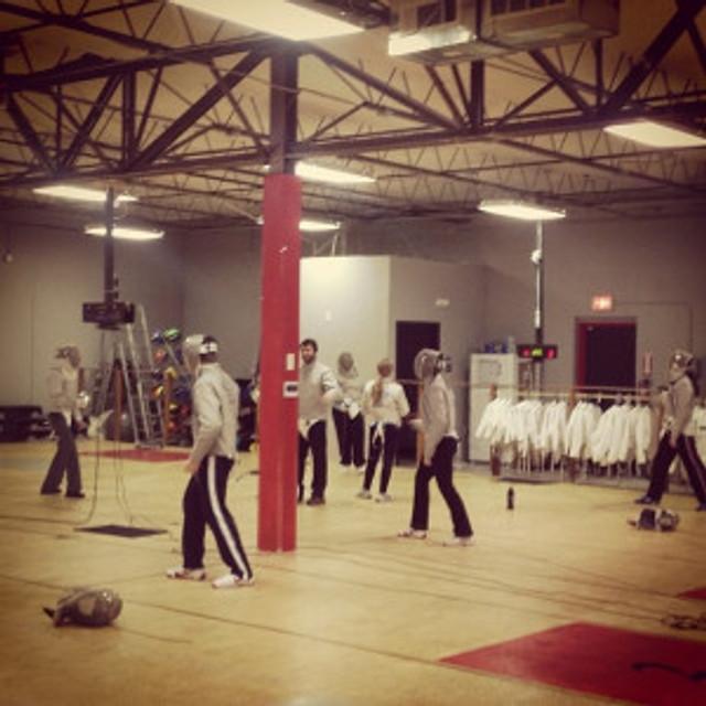 New fencing club