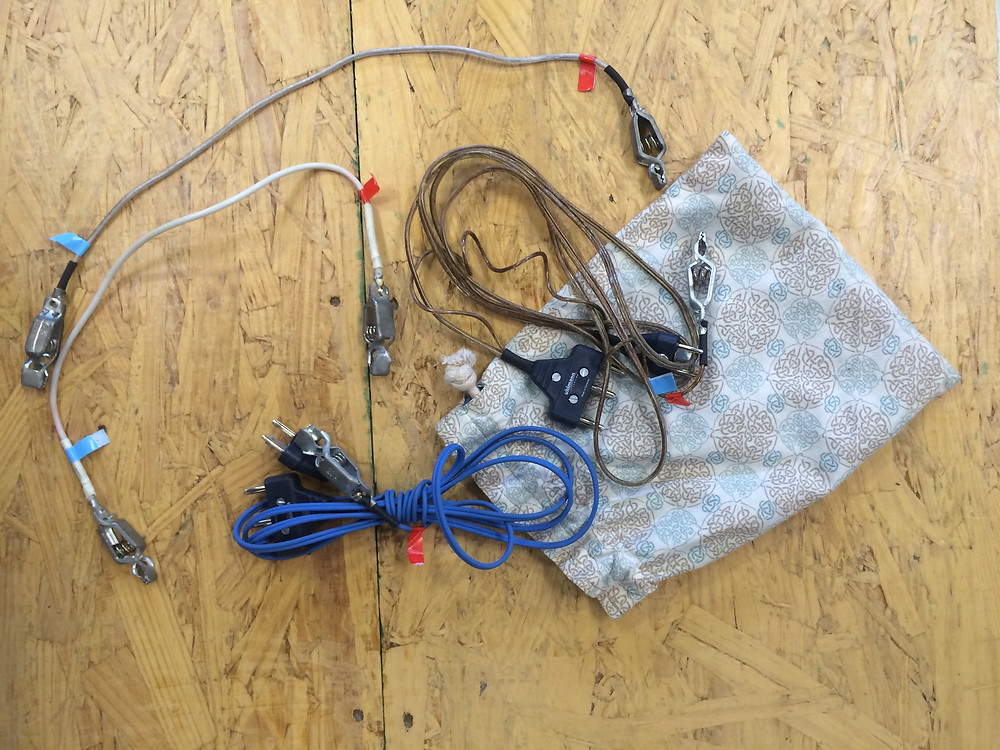 Cords with cord bag