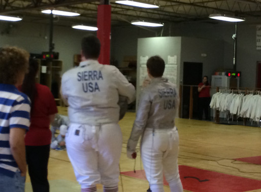 Welcome to my Sabre Fencing Blog!