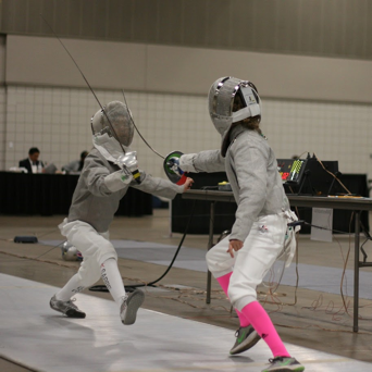 Mylene fencing next opponent