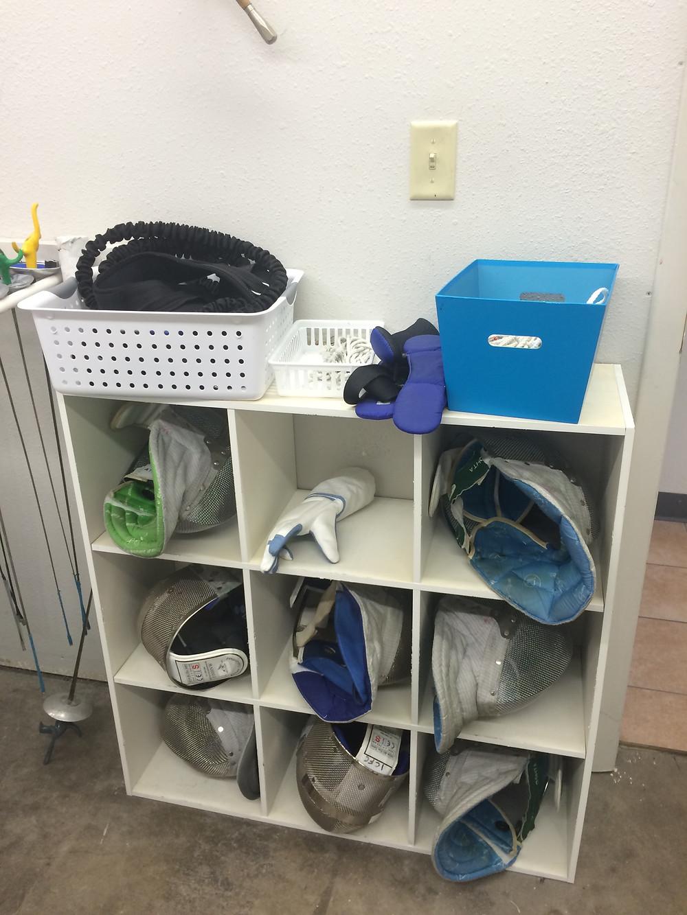 Mask storage