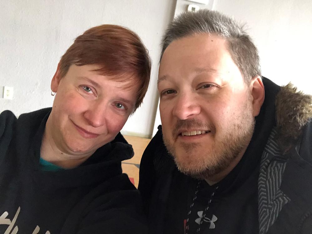 david and kate selfie