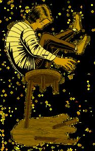 Broken stool