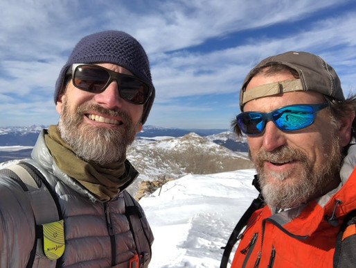 Recipe - 4 days, 3 peaks, 2 Knuckleheads, 1 Adventure