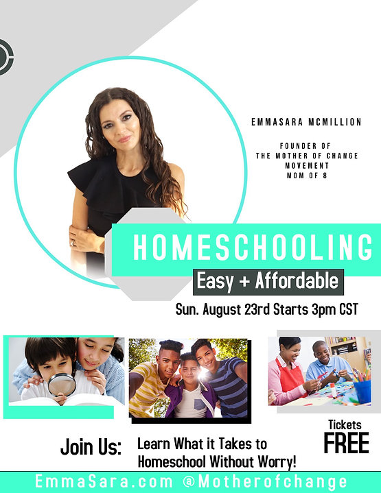 MOTHER OF CHANGE HOMESCHOOL WEBINAR FREE