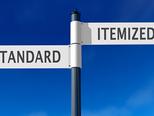 2020 年度個人税務:標準控除と項目別控除について