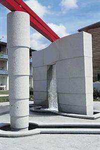 Brunnenskulptur Wassertor, Herbertingen Altenpflegeheim