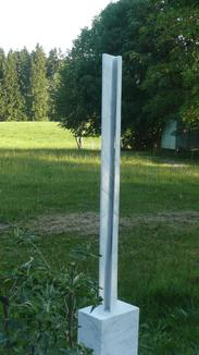 Schicht-Stele XIX