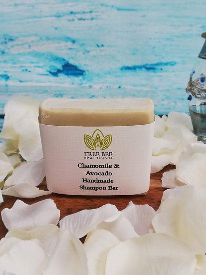 Chamomile & Avocado Shampoo Bar