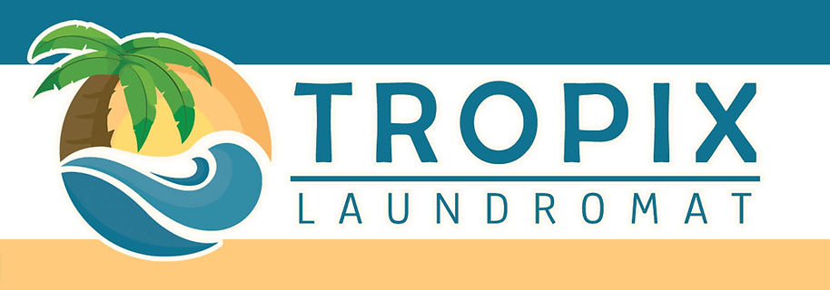 Tropix Laundromat Locations Banner, Gaithersburg, Essex, Rockville, Rosedale, Middle River, Germantown, Montgomery Fillage, Damascus, Olney
