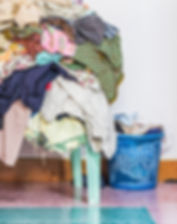 infected, Dirty laundry pile, Laundry Se