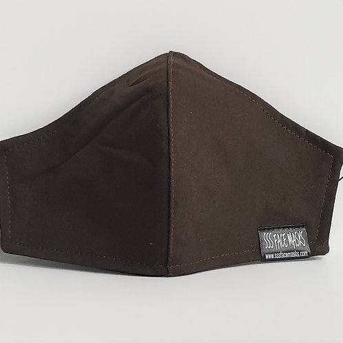 Solid Brown-Twill
