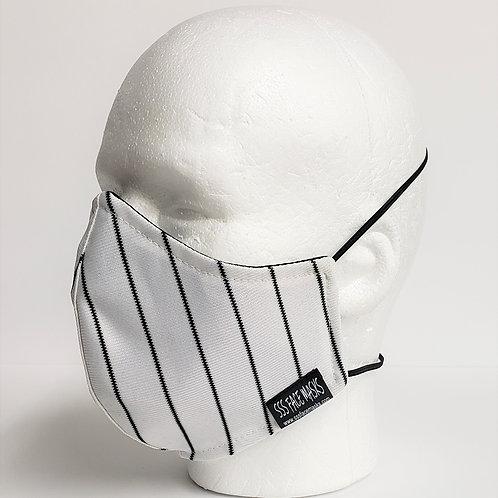 Baseball Black Stripes Athletic Knit