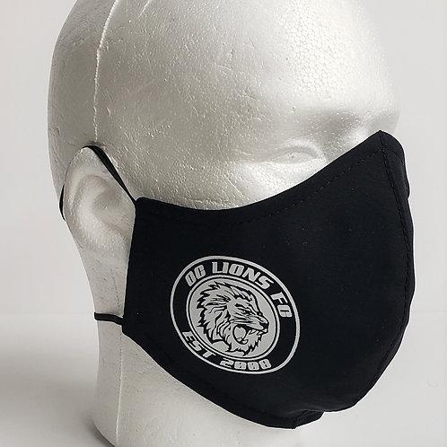 Solid Colors- Dri-Fit- Custom Printing- Set of 12 Masks